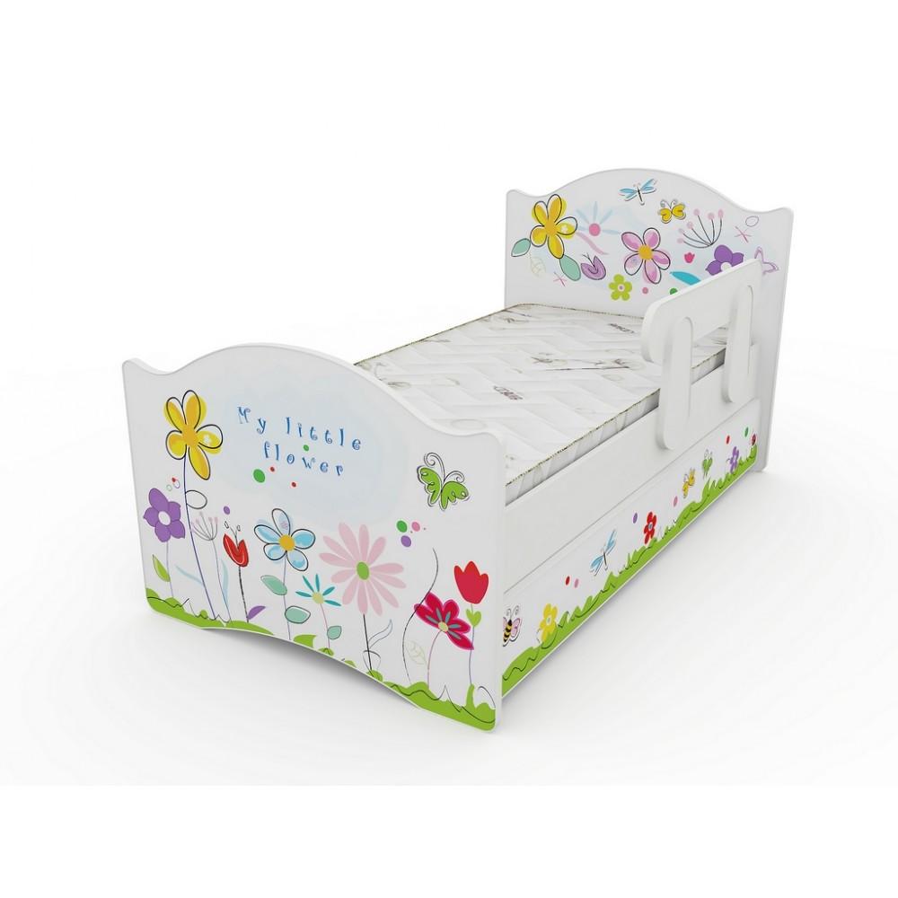 Кровать классик Цветочные сны