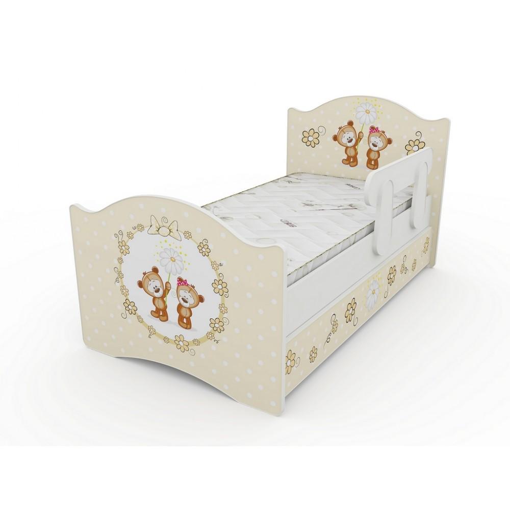 Кровать классик Мишки